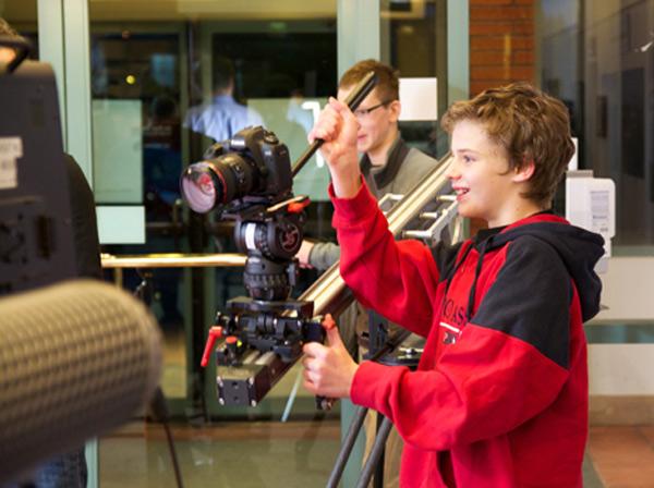Kid Filming