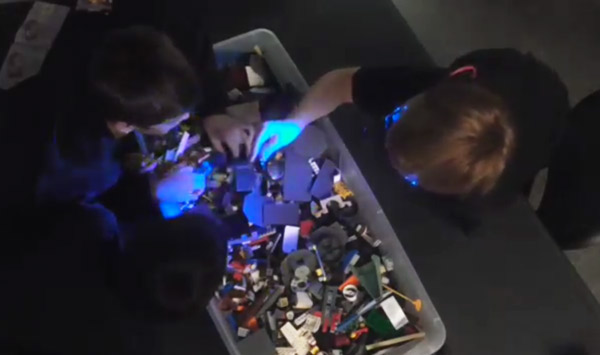 Secret LEGO Building Team